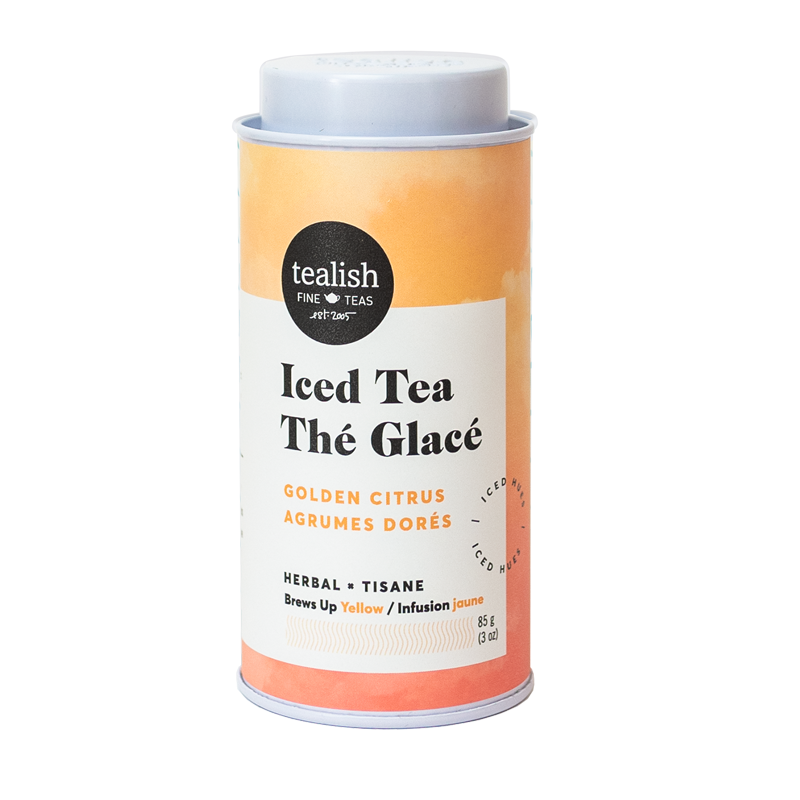 Golden Citrus Iced Herbal Tea