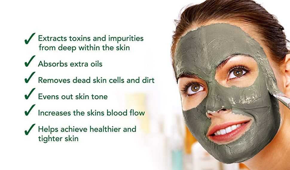 (BUY 1 TAKE 2 FOR FREE‼) Bentonite Miracle Facial Clay Mask With Vitamin C  And Glutathione