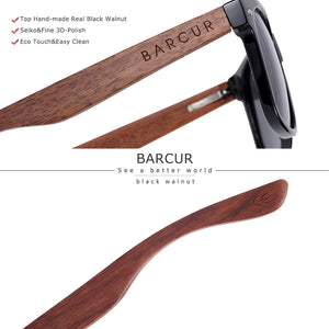 Natural Walnut Sunglasses Polarized