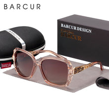 BARCUR Original Sunglasses Women Polarized Elegant Design For Ladies Sun Glasses Female