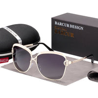 Fast Delivery BARCUR Gradient Sun glasses Women Polarized Sunlgasses for Women trending products