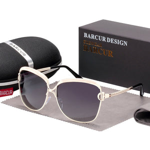 Gradient Sun glasses Women Polarized
