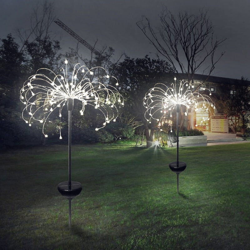 90/150 LED solar light - fireworks