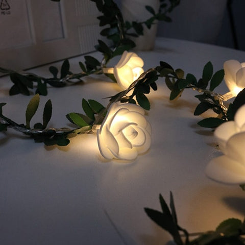 10/20/40 LED Rose Flower led String Lights