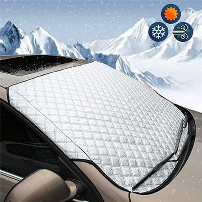 Car Snow/Frost/Sun Windscreen Cover