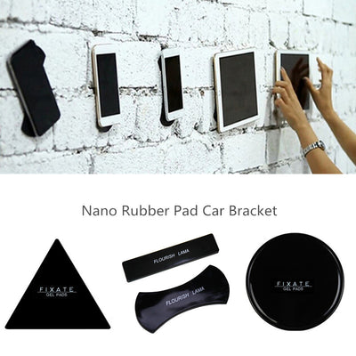Nano Rubber Sticky Pad Anti-Slip Car Dash Phone Holder