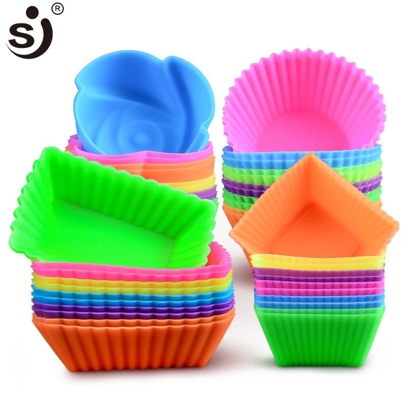 6pcs Silicone Mould Cupcake