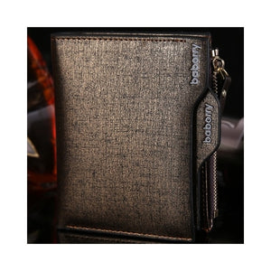 Men Wallet with Coin Pocket