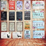 Iron Metal Poster Wall Decoration Vintage Signs