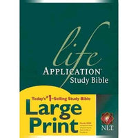 Life Application Study Bible NLT   Large Print   by Tyndale House Publishers