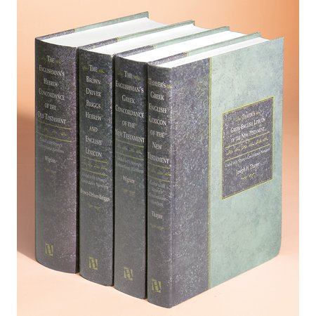 Biblical Language Library, 4 Volumes (Concordance, Lexicon)