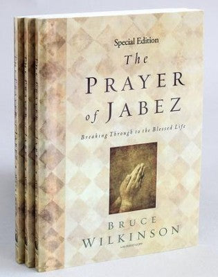 Prayer of Jabez by Bruce Wilkinson (Special Edition 3-pack)