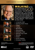 Walking With God : 12 Programs on DVD with Workbook by Richard Booker