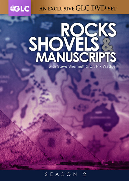 """Rocks, Shovels & Manuscripts"" Complete Season 2 (DVD)"