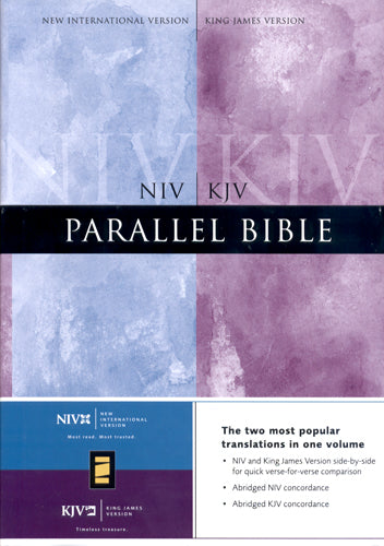 NIV/KJV Parallel Bible - Zondervan