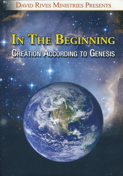 In The Beginning DVD by David Rives