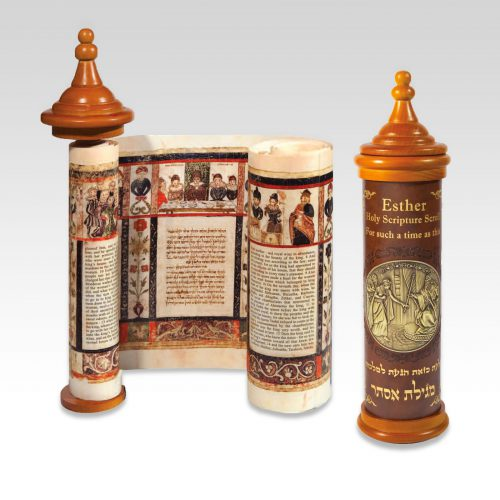 Esther Holy Scripture Scroll