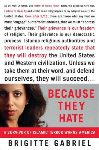 Because They Hate by Brigitte Gabriel