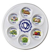 Disposable Plastic Seder Plates