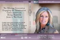 Cowgirl Logic with Crystal Lyons - DVD Set #3 (Programs 11 - 15)