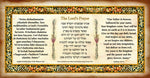 Lord's Prayer Parchment