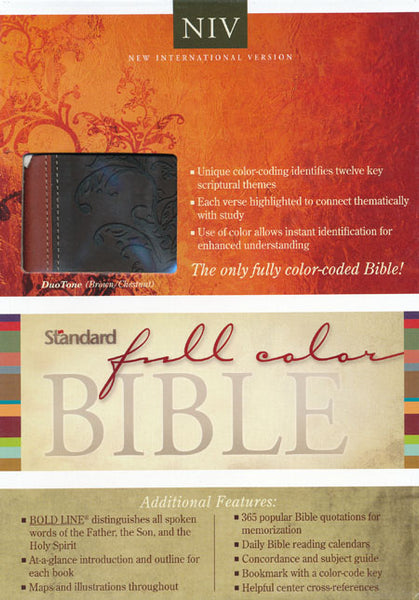 Standard Full Color NIV Bible - Standard Publishing