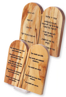 Olivewood Ten Commandments