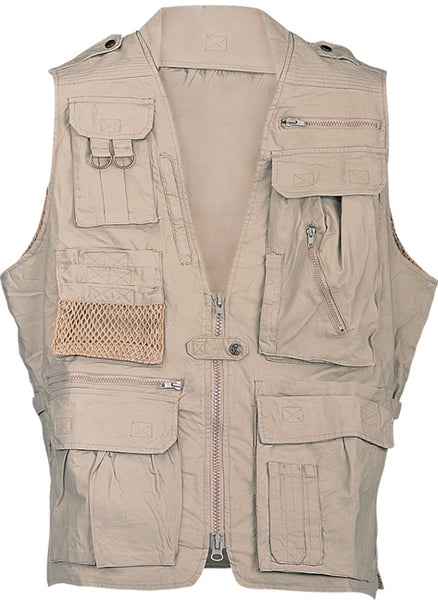 Safari Vest by Humvee