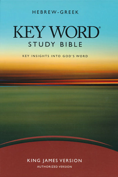 Hebrew-Greek Keyword Study Bible- KJV Hardback -AMG Publishers