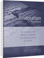 Restoration Workbook by Toby Janicki