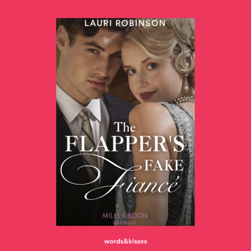 The Flapper's Fake Fiance by Lauri Robinson (Sisters of the Roaring Twenties #1)