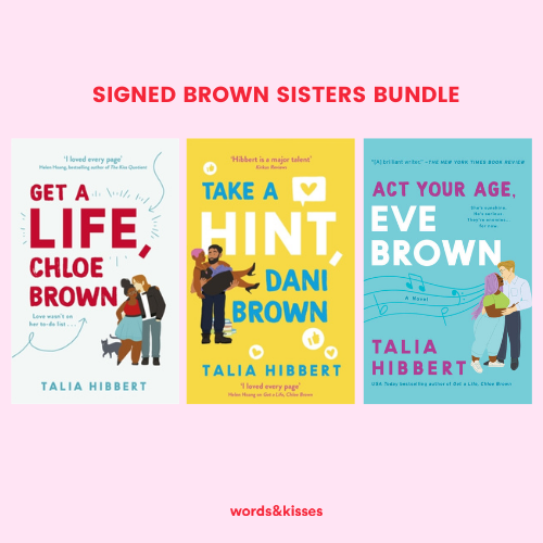 The Brown Sisters Bundle by Talia Hibbert - Signed by the Author