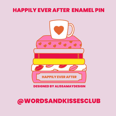 Happily Ever After Enamel Pin