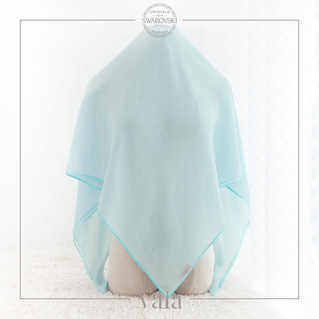 BAWAL MINI 60 DOTS (CAB) ICE BLUE - Tracync.com