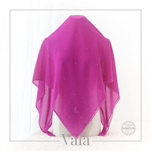 BAWAL MINI 60 DOTS (001 CRYSTAL) FLAIR PURPLE - Tracync.com