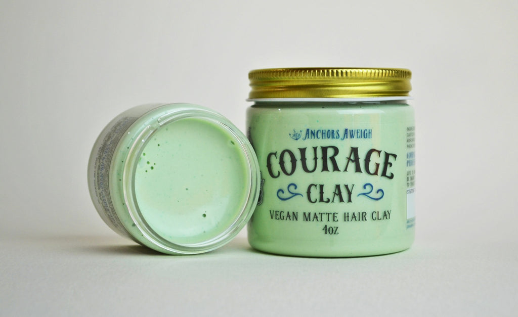 Clay, the magical hair dirt.. From the ground to your head! | Anchors Aweigh Hair Co.