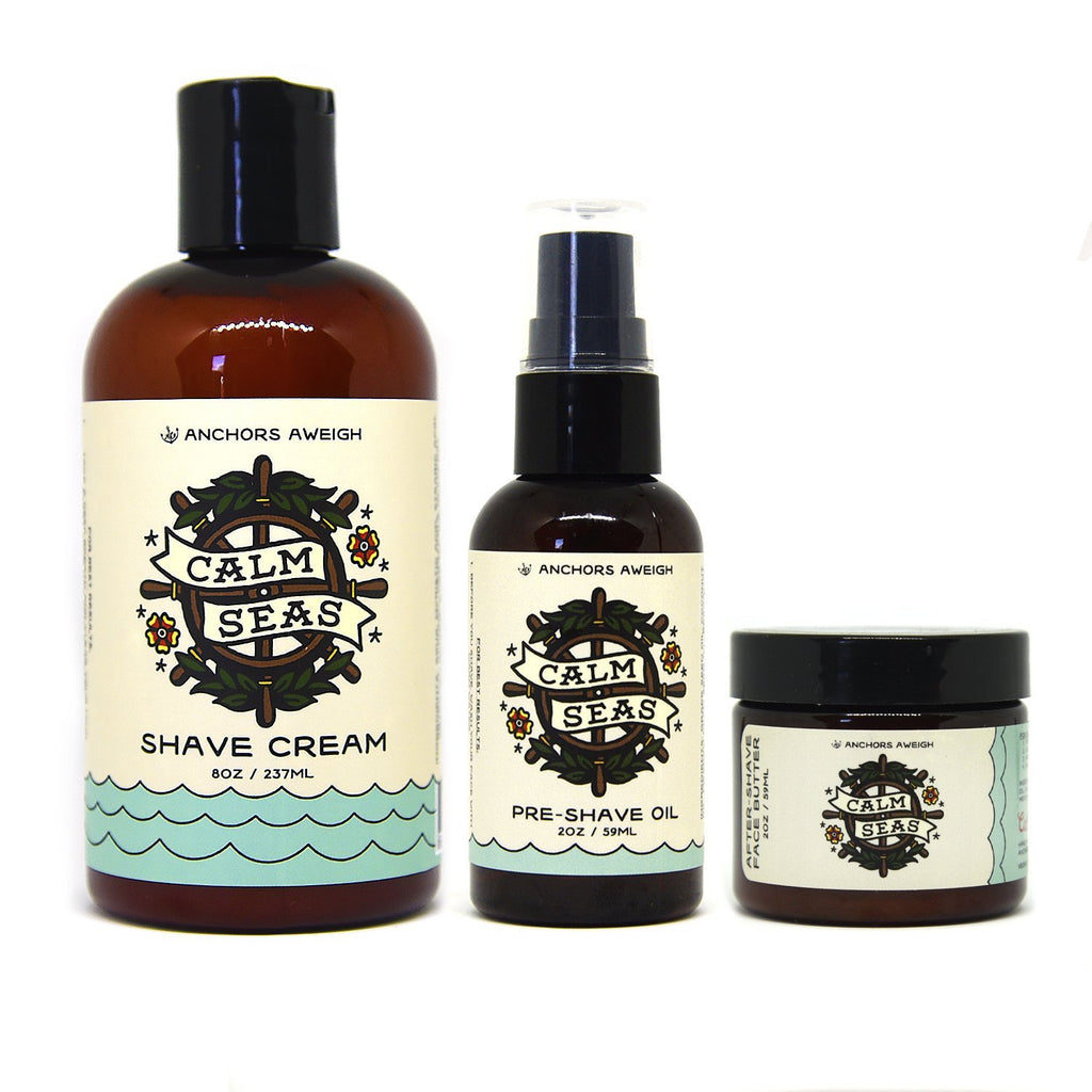 SHAVING KIT - Anchors Aweigh Hair Co.