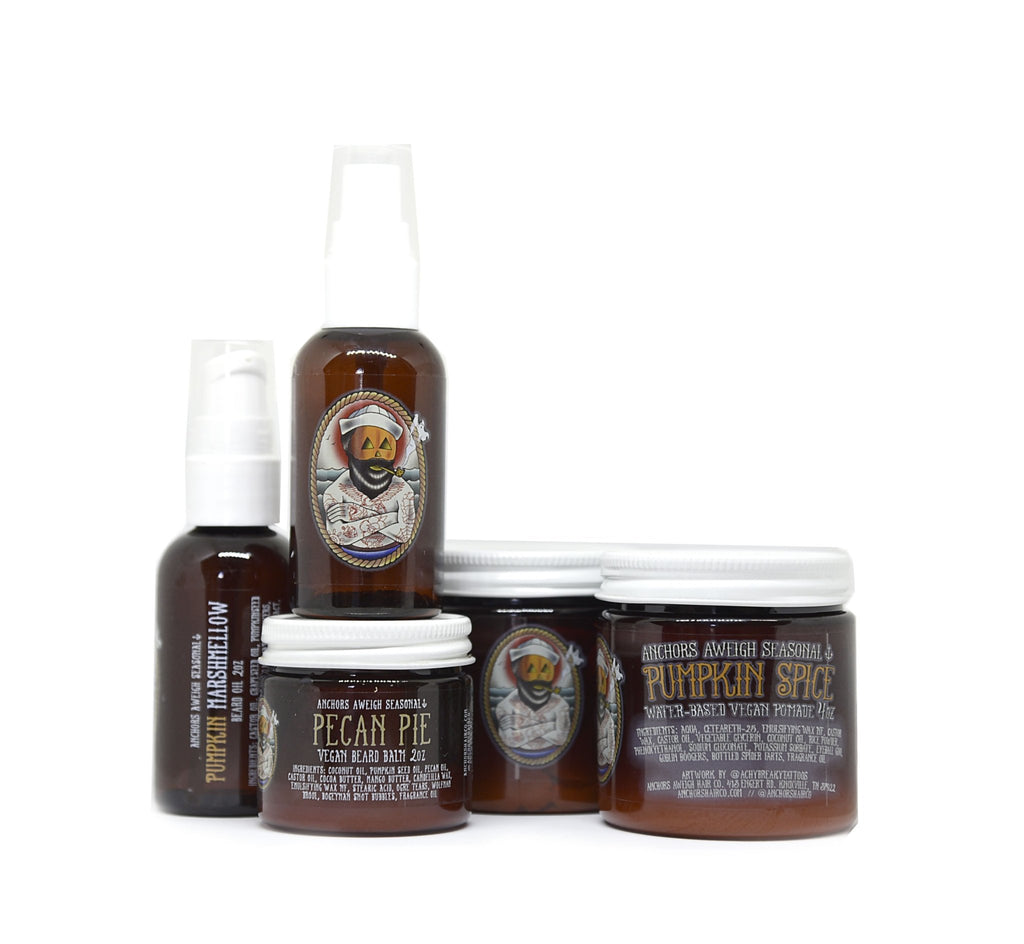 Fall Products Hair & Beard Bundle - Anchors Aweigh Hair, Skin, and Shave Co.