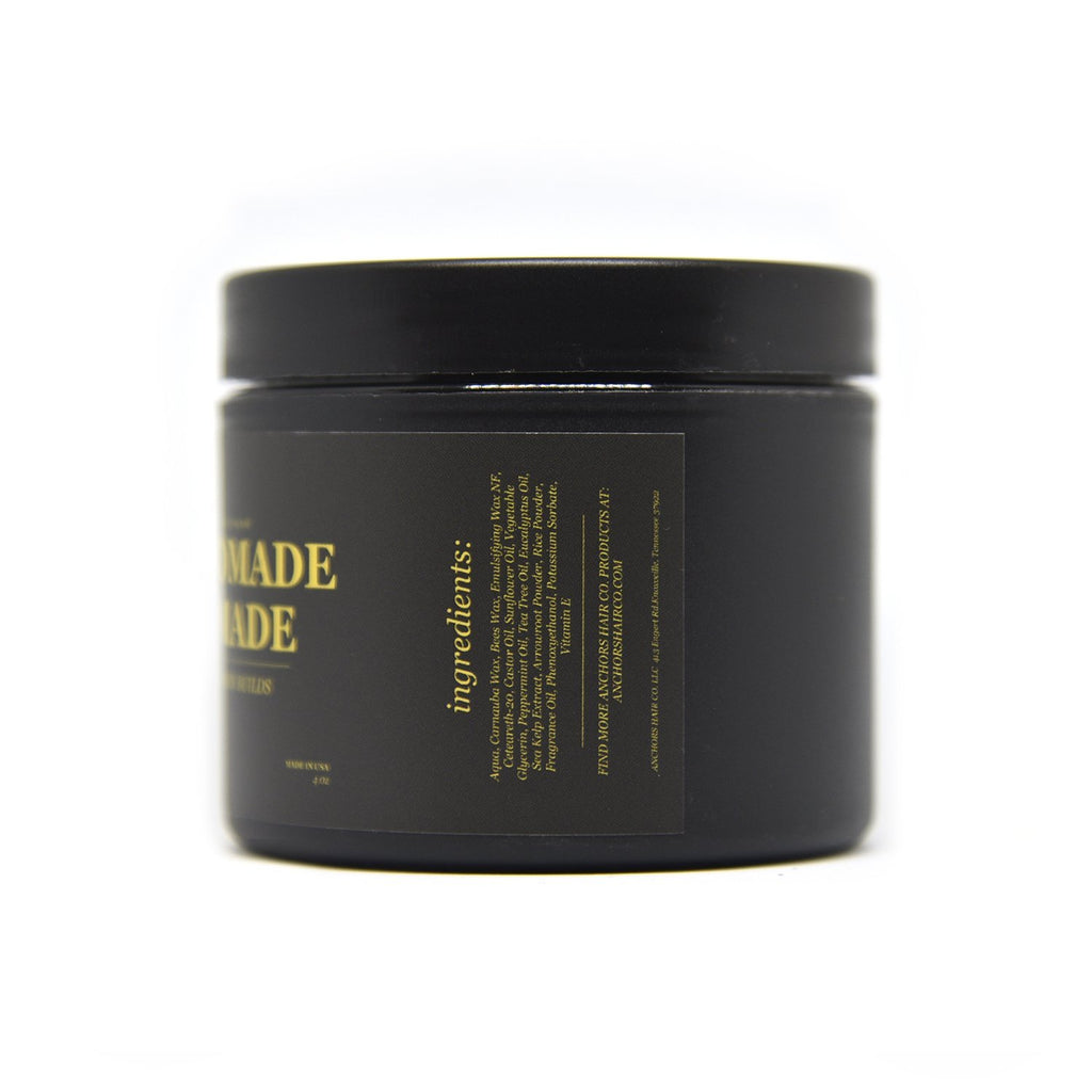 Modern Builds Matte Hair Pomade  // Low Shine // Mid Hold - Anchors Aweigh Hair, Skin, and Shave Co.