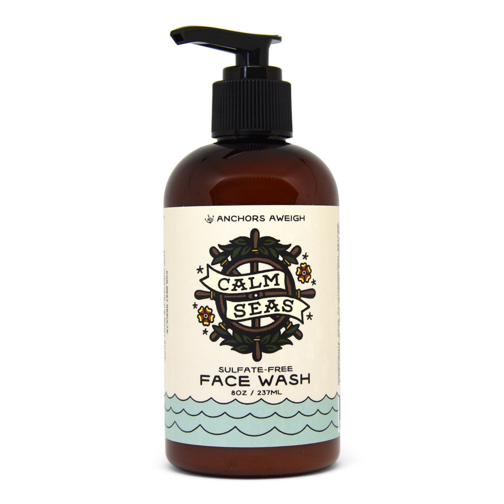 Natural Face Wash  // Vegan // Sulfate Free - Anchors Aweigh Hair Co.