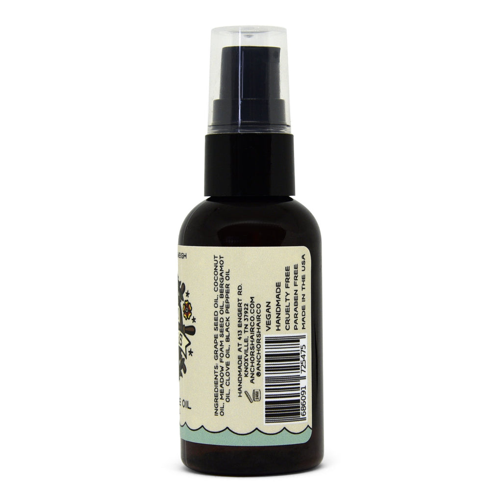 Pre Shave Oil // Soothing // Anti Bacterial - Anchors Aweigh Hair Co.