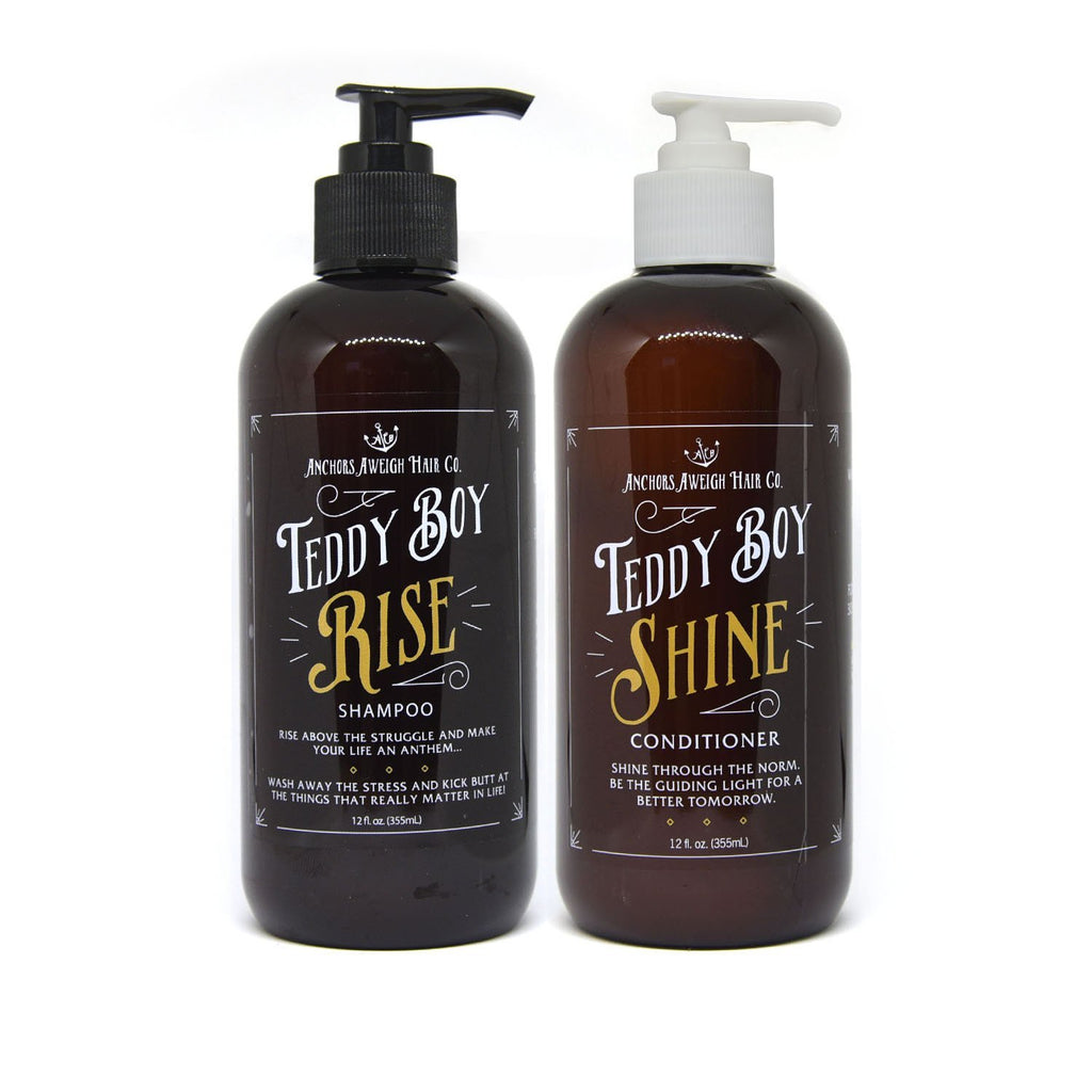 Sulfate Free Shampoo & Conditioner // Paraben Free // Vegan - Anchors Aweigh Hair, Skin, and Shave Co.