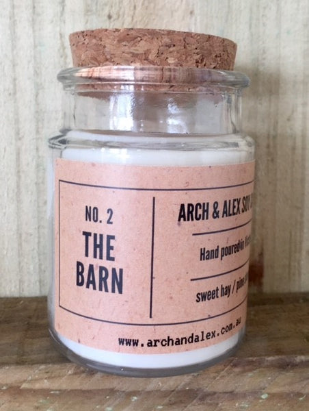 SOY CANDLE - NO.2 THE BARN