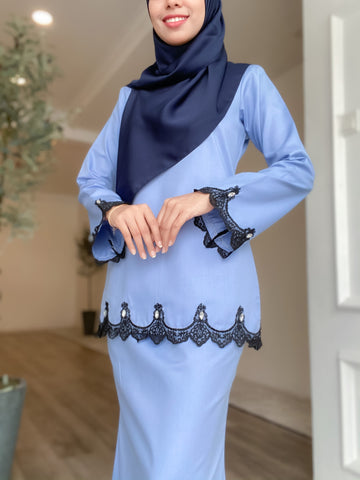 Balqis Klasik (Ice Blue)