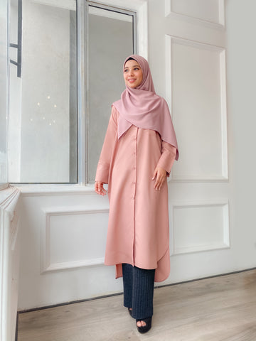Chisca Blouse (Dusty Pink)