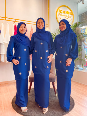 Mawraa Jameela  (Royal Blue)