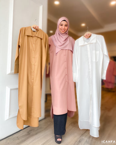 Chisca Blouse (Caramel)