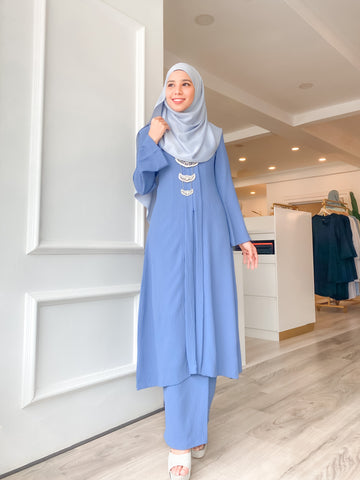 Permahsuri Kebaya (Dusty blue)