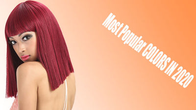 The Most Popular Colors Of Lace Front  Wigs In 2020