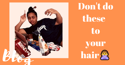 Don't do these to your hair!